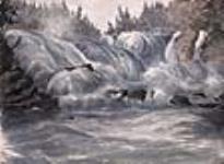 MIKAN 2834184 Shawinigan Falls, St. Maurice River. 1842 [73 KB, 640 X 468]