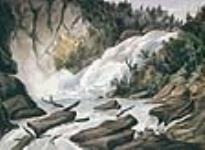 MIKAN 2896747 Les chutes, Rivière-du-Loup. ca 1842 [81 KB, 640 X 467]