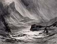 MIKAN 2834208 Mount Rainier on Puget Sound, (Wash) ca. 10 October 1845 [Mount Rainier on Puget Sound, (Wash), ca. 10 October 1845]