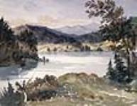 MIKAN 2834187 Lake Champlain from Fort Ticonderoga, New York. 1842 [86 KB, 640 X 495]