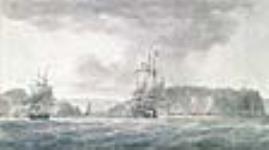 MIKAN 2896907 Vue du port de Saint-Jean, depuis le large. ca 1811 [Vue du port de Saint-Jean, depuis le large., ca 1811]
