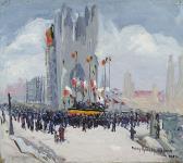 MIKAN 2894922 Ypres rend hommage au maire intérimaire de 1914. 1920 [88 KB, 539 X 480]
