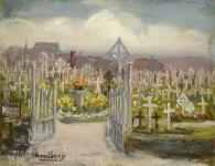 MIKAN 2836023 Menin Road, British Cemetery. ca. 1920 [77 KB, 626 X 480]
