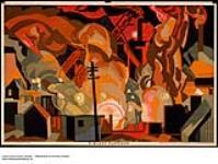 MIKAN 2845207 A Blast Furnace. 1926-1934 [A Blast Furnace., 1926-1934]