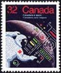 MIKAN 2265977 Canadians in space = Canadiens dans l'espace [philatelic record]. [88 KB, 404 X 480]