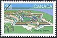 MIKAN 2265982 Fort Anne, N.S., circa 1763 = Le fort Anne (N.-É.) vers 1763 [philatelic record]. [93 KB, 640 X 427]