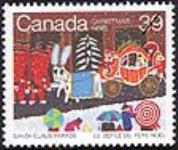 MIKAN 2265999 Christmas, Santa Claus Parade = Noël, le défilé du père Noël [philatelic record]. [119 KB, 640 X 539]
