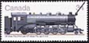 MIKAN 2266003 CP Class P2a 2-8-2 type = CP class P2a type 2-8-2 [philatelic record]. [59 KB, 640 X 309]