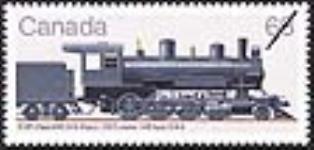 MIKAN 2266005 CGR Class H4D 2-8-0 type = CGR classe H4D type 2-8-0 [philatelic record]. [58 KB, 640 X 305]
