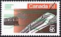 MIKAN 2266019 Expo 86, transportation, Vancouver = Expo 86, transports, Vancouver [philatelic record]. [69 KB, 640 X 390]