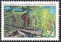 MIKAN 2266052 Brûlé approche du lac Supérieur = Brûlé nears Lake Superior [philatelic record]. [88 KB, 640 X 443]