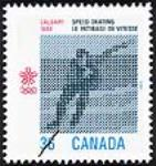 MIKAN 2266056 Calgary 1988, speed skating = Calgary 1988, le patinage de vitesse [philatelic record]. [83 KB, 453 X 480]