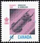 MIKAN 2266057 Calgary 1988, bobsleigh = Calgary 1988, le bobsleigh [philatelic record]. [88 KB, 454 X 480]
