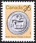 MIKAN 2266011 Butter stamp = Étampe à beurre [philatelic record]. [61 KB, 411 X 480]