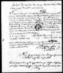 MIKAN 3063551 [Extrait de baptême d'Eustache Gaspard Michel, fils de Michel Chartier ...]. 1748, septembre, 01 [[Extrait de baptême d'Eustache Gaspard Michel, fils de Michel Chartier ...]., 1748, septembre, 01]