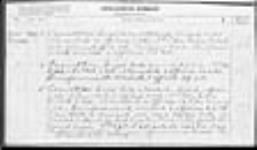 MIKAN 1883116 War diaries - 3rd Canadian Division, Administrative Branches of the Staff = Journal de guerre - 3e Division canadienne - Directions administratives du personnel. 1917/05/01-1917/06/30 (May 1917 War Diary, p. 3) [61 KB, 950 X 554]