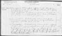 MIKAN 1883116 War diaries - 3rd Canadian Division, Administrative Branches of the Staff = Journal de guerre - 3e Division canadienne - Directions administratives du personnel. 1917/05/01-1917/06/30 (May 1917 War Diary, p. 7) [56 KB, 950 X 554]