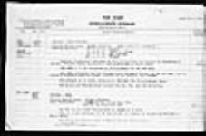 MIKAN 2005785 War diaries - 2nd Canadian Infantry Brigade = Journal de guerre - 2e Brigade d'infanterie canadienne. 1919/01/01-1919/04/26 (January 1919 War Diary, p. 6) [War diaries - 2nd Canadian Infantry Brigade =, 1919/01/01-1919/04/26]