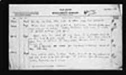 MIKAN 2005937 War diaries - 2nd Canadian Divisional Artillery = Journal de guerre - 2e Artillerie divisionnaire canadienne. 1918/08/01-1918/09/30 (August 1918 War Diary, p. 3) [153 KB, 1519 X 900]