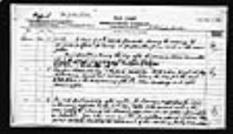 MIKAN 2005951 War diaries - 3rd Brigade, Canadian Field Artillery = Journal de guerre - 3e Brigade, Artillerie de campagne canadien. 1918/03/01-1918/09/30 (March 1918, p. 6) [261 KB, 1561 X 900]