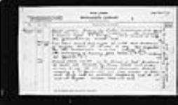 MIKAN 2004763 War diaries - 11th Brigade, Canadian Field Artillery = Journal de guerre - 11e Brigade, Artillerie de campagne canadien. 1916/02/23-1916/10/31 (February 1916, p. 7) [159 KB, 1525 X 900]
