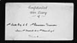 MIKAN 2004871 War diaries - 1st Battalion, Canadian Engineers = Journal de guerre - 1er Bataillon, Génie canadien. 1916/03/01-1916/11/30 (March 1916, p. 1) [91 KB, 1601 X 900]