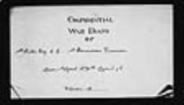MIKAN 2004871 War diaries - 1st Battalion, Canadian Engineers = Journal de guerre - 1er Bataillon, Génie canadien. 1916/03/01-1916/11/30 (April 1916, p. 1) [101 KB, 1582 X 900]