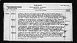 MIKAN 2006026 War diaries - Deputy Director, Medical Service, Canadian Corps = Journal de guerre - Sous-directeur, Services de santé, Corps d'armée canadien. 1916/10/01-1919/05/07 (October 1916, p. 7) [261 KB, 1618 X 900]
