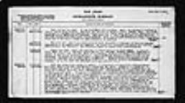 MIKAN 2006026 War diaries - Deputy Director, Medical Service, Canadian Corps = Journal de guerre - Sous-directeur, Services de santé, Corps d'armée canadien. 1916/10/01-1919/05/07 (October 1916, p. 8) [279 KB, 1619 X 900]