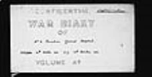 MIKAN 2005097 War diaries - 2nd Canadian General Hospital - 2nd Canadian General Hospital Matron's diary = Journal de guerre - 2e Hôpital général canadien - Journal de l'infirmière-major E. 1914/10/16-1919/01/31 (October 1914, p. 1) [War diaries - 2nd Canadian General Hospital - 2nd Canadian General Hospital Matron's diary =, 1914/10/16-1919/01/31]