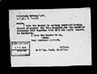MIKAN 2034182 War diaries - 8th Canadian General Hospital - Matron's diary [sick leave] = Journal de guerre - 8e Hôpital général canadien - Journal de l'infirmière-major [congé de maladie]. 1916/06-1918/11 (October 1918, p. 1) [War diaries - 8th Canadian General Hospital - Matron's diary [sick leave] =, 1916/06-1918/11]