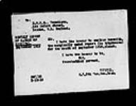 MIKAN 2034182 War diaries - 8th Canadian General Hospital - Matron's diary [sick leave] = Journal de guerre - 8e Hôpital général canadien - Journal de l'infirmière-major [congé de maladie]. 1916/06-1918/11 (October 1918, p. 2) [War diaries - 8th Canadian General Hospital - Matron's diary [sick leave] =, 1916/06-1918/11]