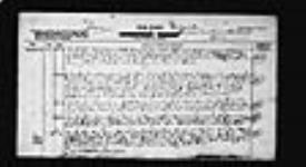 MIKAN 2034179 War diaries - Headquarters, Canadian War Graves Detachment, France = Journal de guerre - Quartier général, Détachement des sépultures de guerre canadiennes, France. 1919/05/18-1919/06/30 (May 1919, p. 4) [240 KB, 1653 X 900]