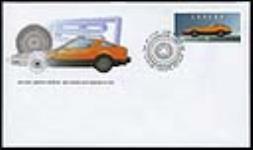 MIKAN 3630896 Bricklin SV-1, sports car = SV-1 de Bricklin, voiture de sport [philatelic record] / 1996 [Bricklin SV-1, sports car = SV-1 de Bricklin, voiture de sport [philatelic record] /, 1996]