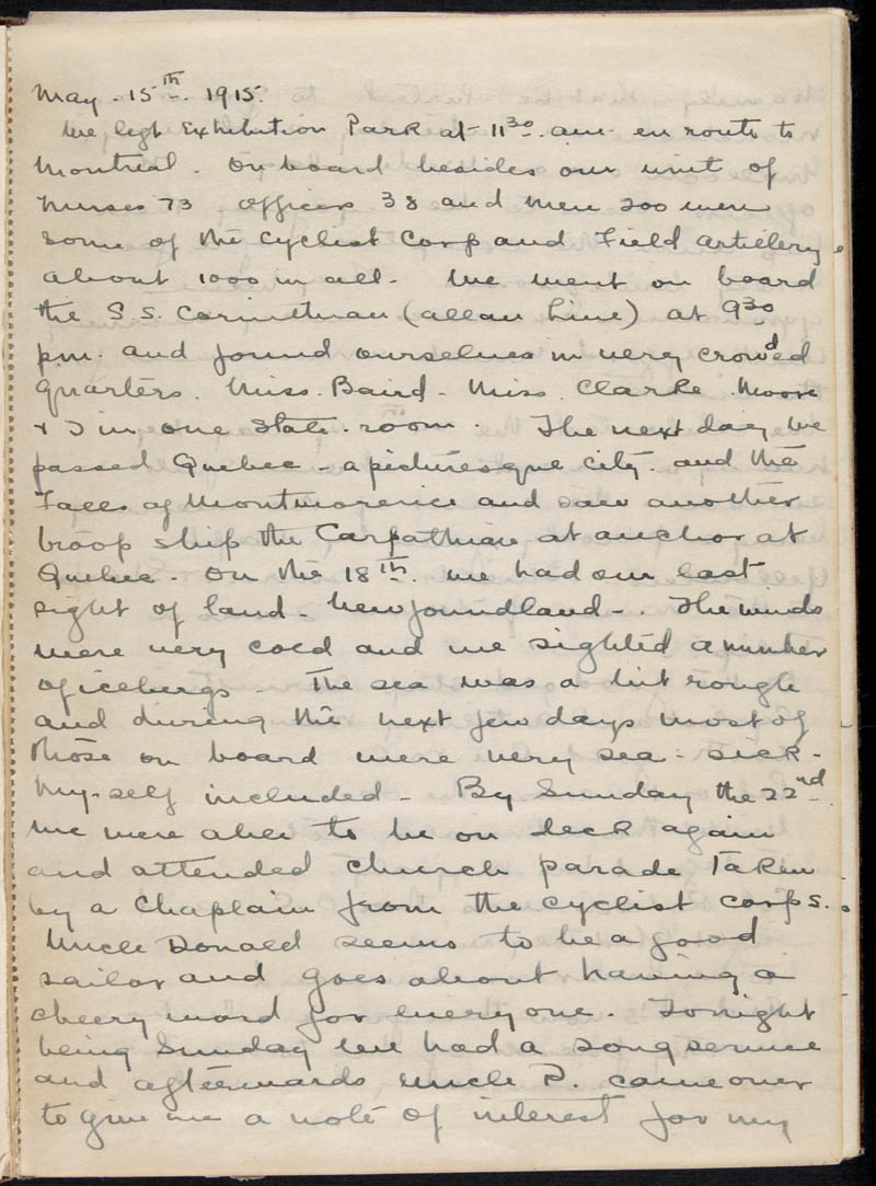 Diary - 1915, Volume Number: , Page Number: 4