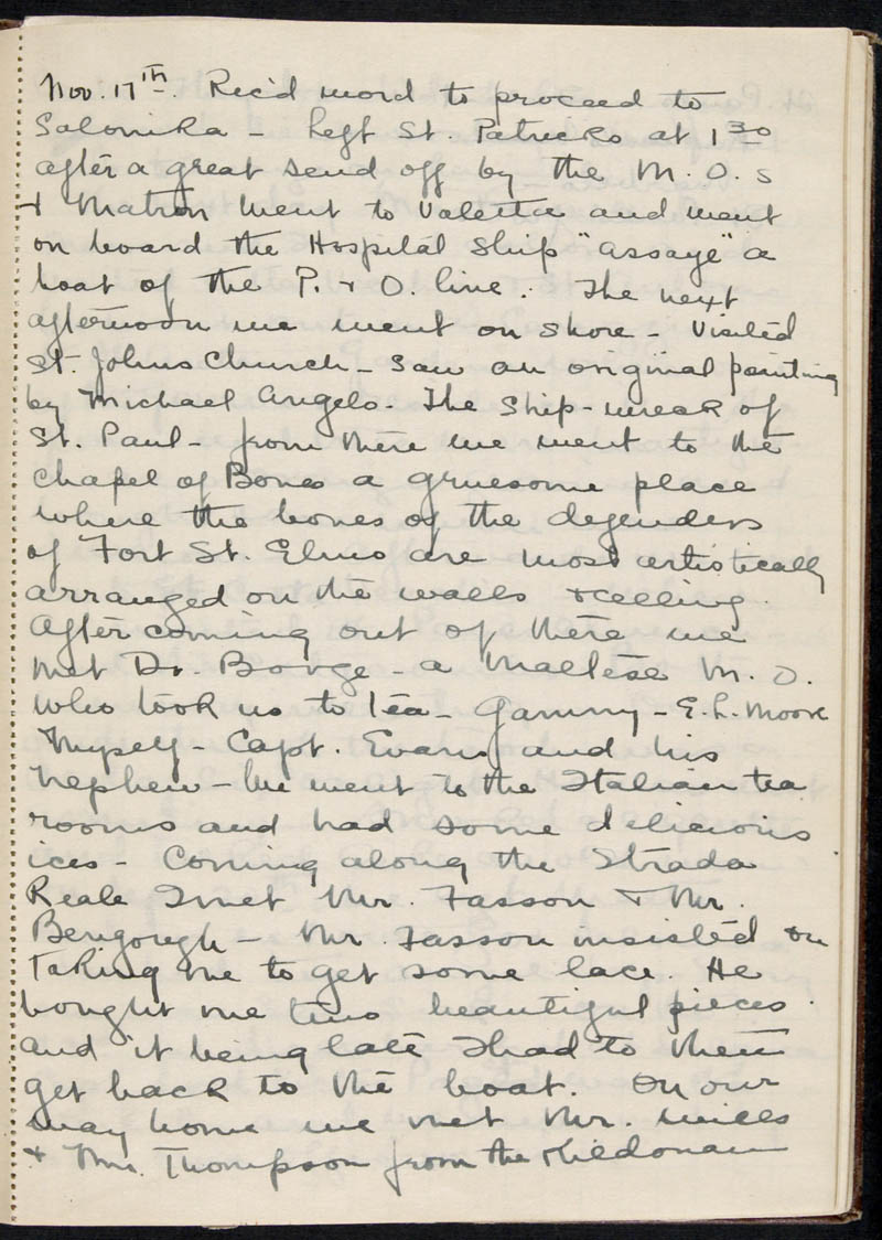 Diary - 1915, Volume Number: , Page Number: 64