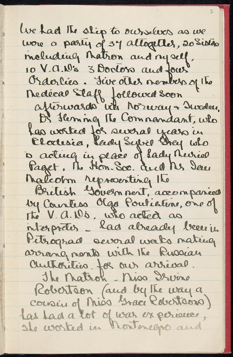 Diary - 02/11/1915 to 01/07/1916, Volume Number: , Page Number: 5