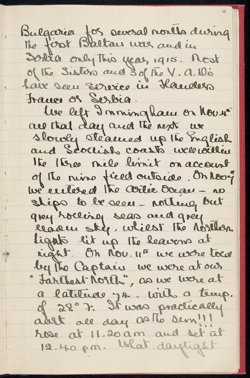 Diary - 02/11/1915 to 01/07/1916, Volume Number: , Page Number: 6