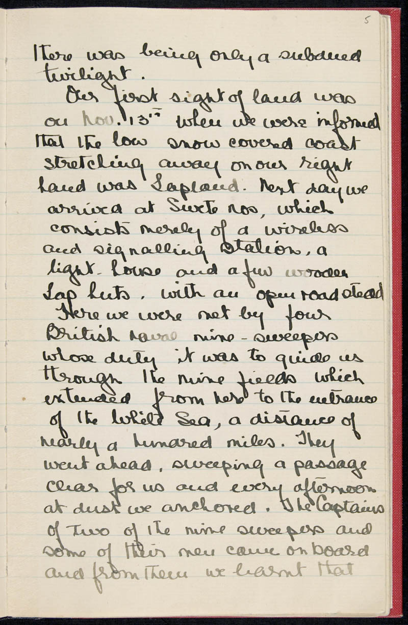 Diary - 02/11/1915 to 01/07/1916, Volume Number: , Page Number: 7
