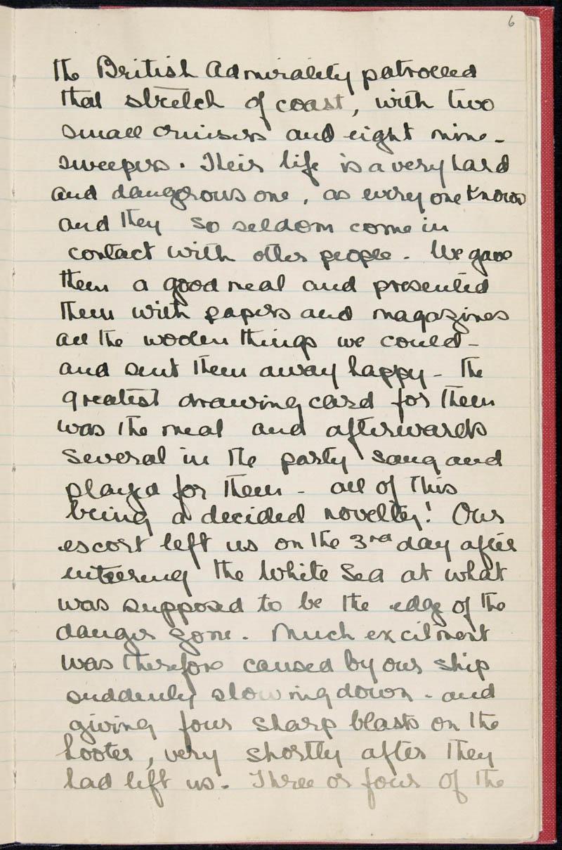 Diary - 02/11/1915 to 01/07/1916, Volume Number: , Page Number: 8