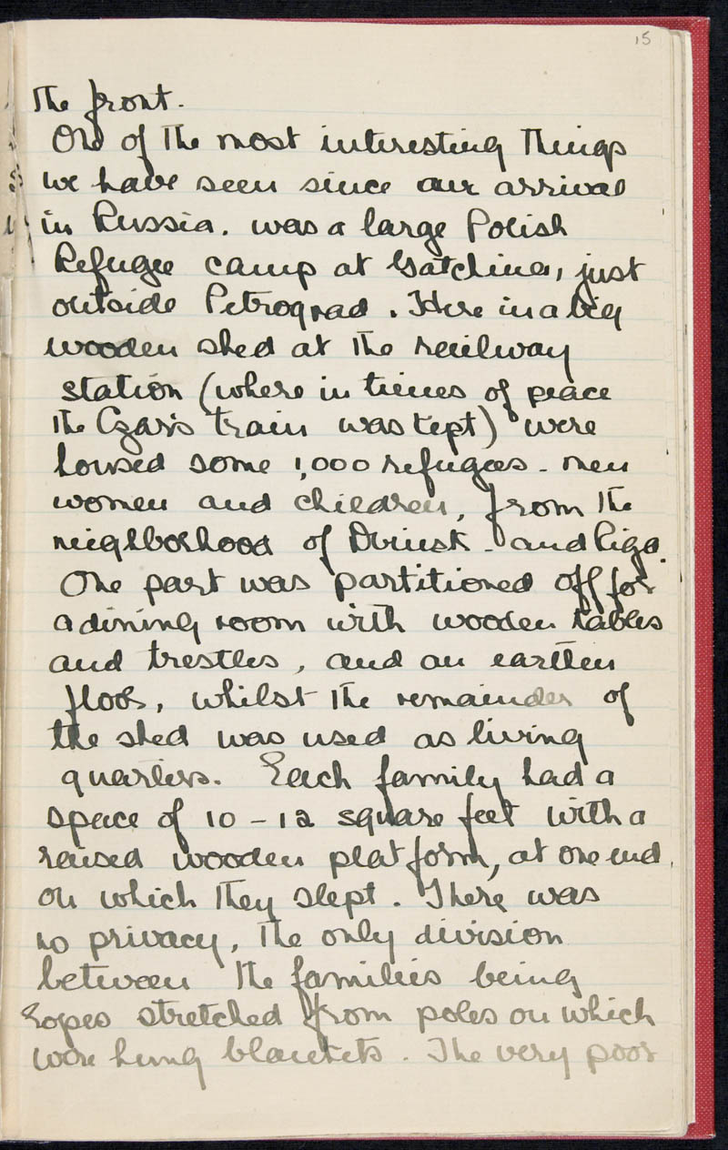 Diary - 02/11/1915 to 01/07/1916, Volume Number: , Page Number: 19