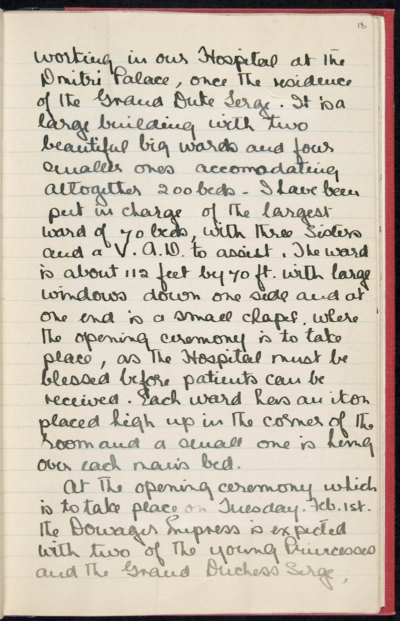 Diary - 02/11/1915 to 01/07/1916, Volume Number: , Page Number: 23