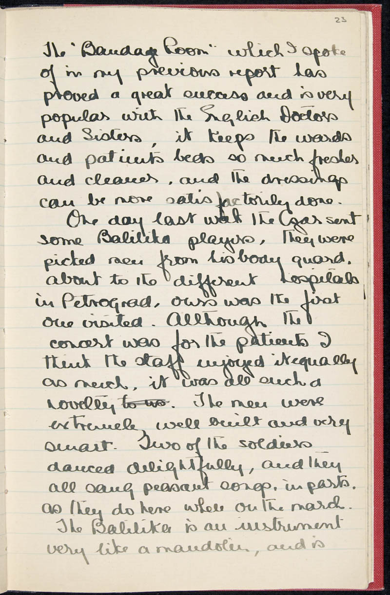Diary - 02/11/1915 to 01/07/1916, Volume Number: , Page Number: 29