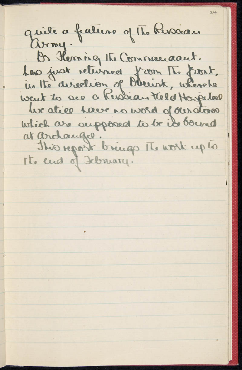 Diary - 02/11/1915 to 01/07/1916, Volume Number: , Page Number: 30