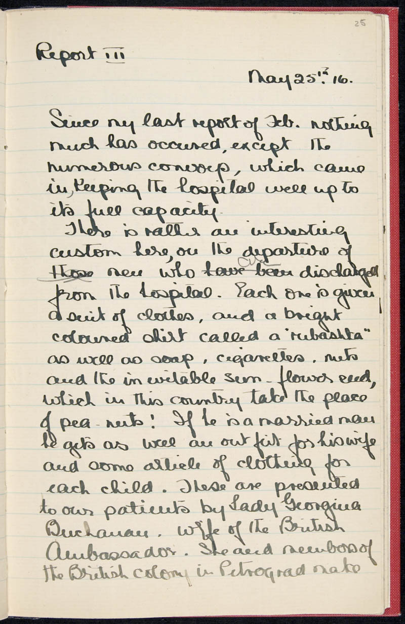 Diary - 02/11/1915 to 01/07/1916, Volume Number: , Page Number: 31