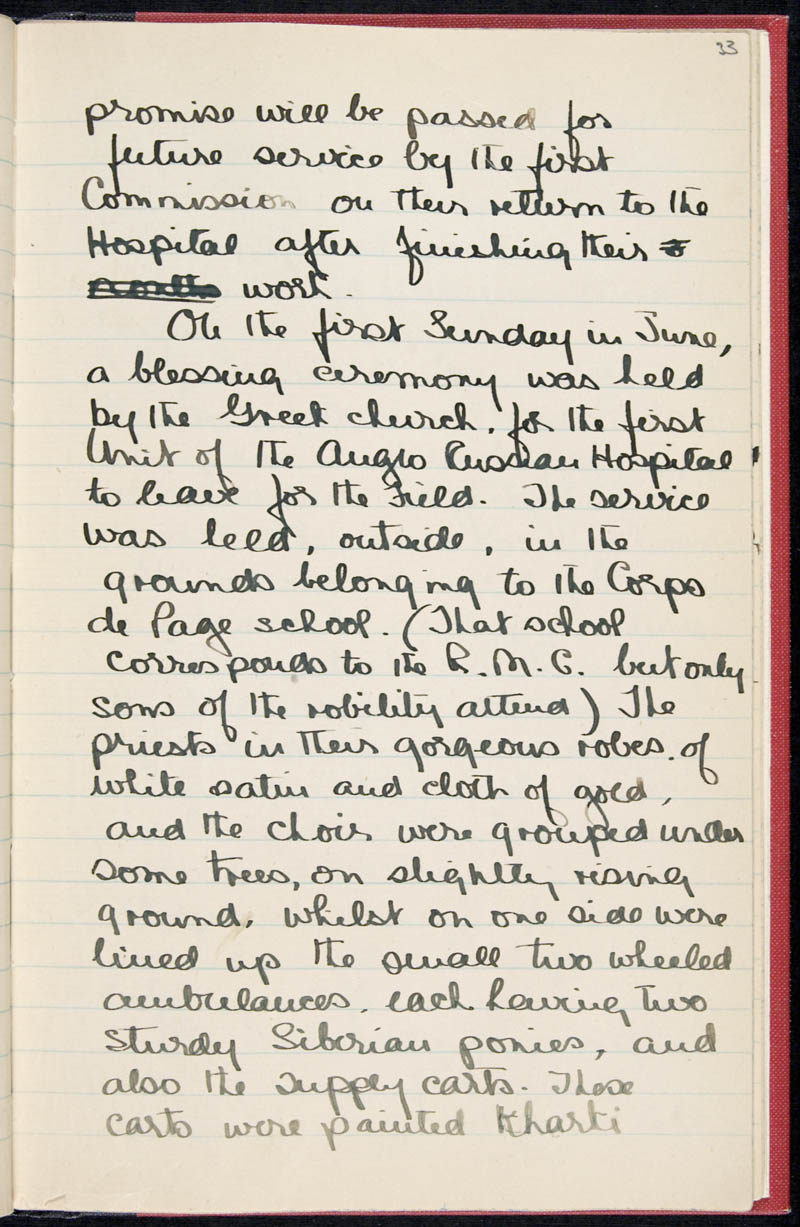Diary - 02/11/1915 to 01/07/1916, Volume Number: , Page Number: 40
