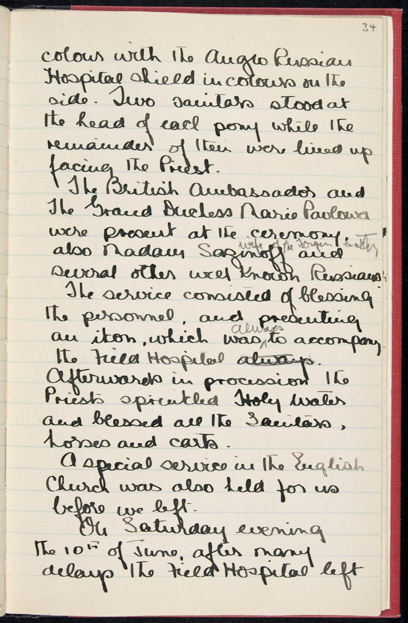 Diary - 02/11/1915 to 01/07/1916, Volume Number: , Page Number: 41