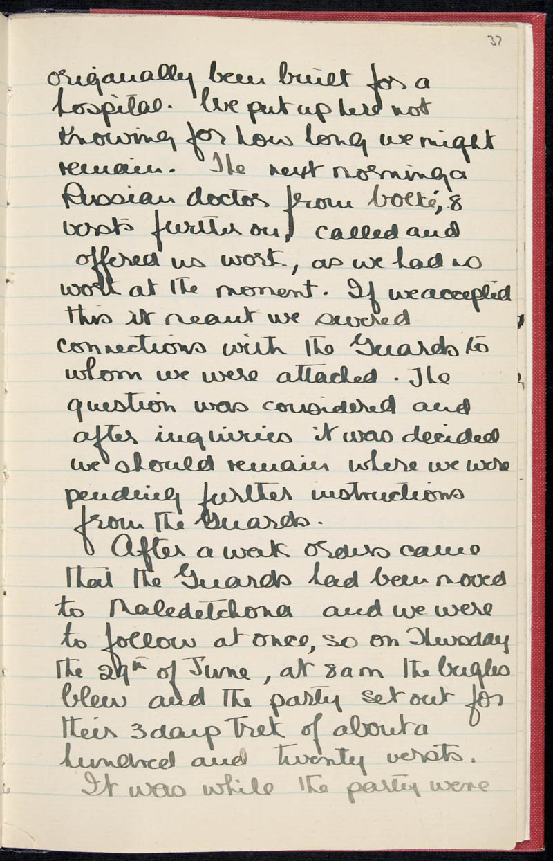 Diary - 02/11/1915 to 01/07/1916, Volume Number: , Page Number: 44