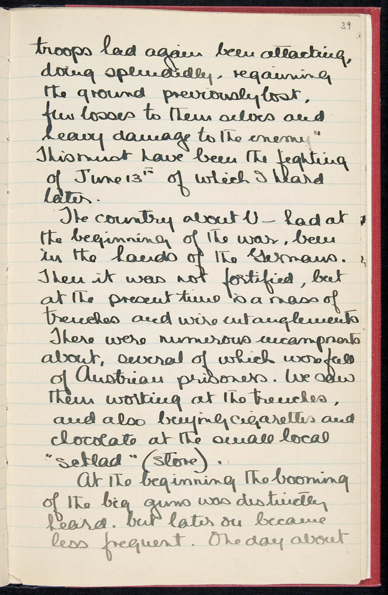 Diary - 02/11/1915 to 01/07/1916, Volume Number: , Page Number: 46