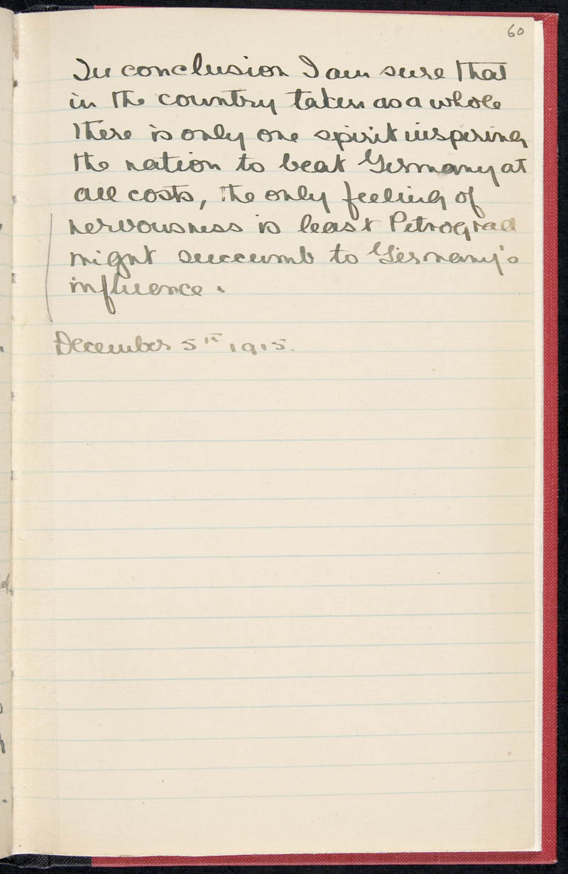 Diary - 02/11/1915 to 01/07/1916, Volume Number: , Page Number: 70